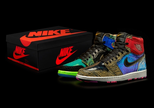"The Air Jordan 1 ""What The Doernbecher"" Honors 14 Freestyle Designs"