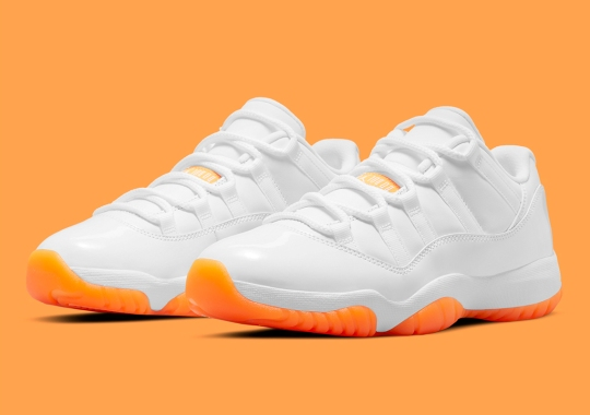 "Official Images Of The Air Jordan 11 Low ""Citrus"""