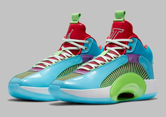 """The Air Jordan 35 Celebrates """"Women In Power"""" With Its Loudest Colorway Yet"""
