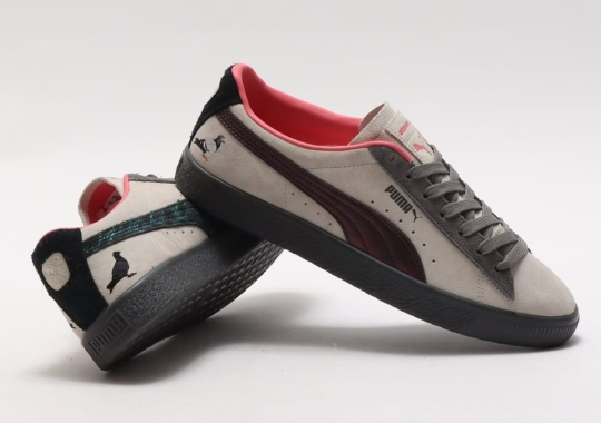 "atmos And Staple Reunite For The Puma Suede ""Pigeon And Crow"""
