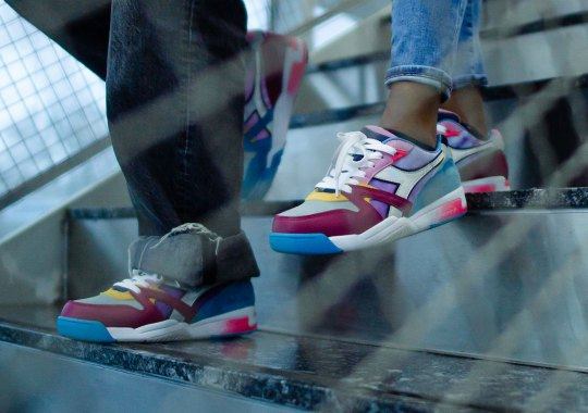 """Garrixon And NYC Students Send A Message Of Inclusivity With The Diadora Duratech Elite """"LIMITLESS"""""""