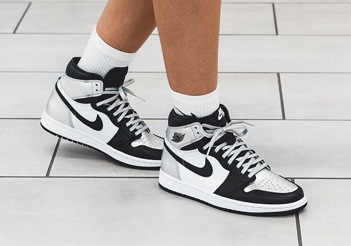 Air Jordan 1 Silver Toe Women's CD0461-001 Retro | SneakerNews.com