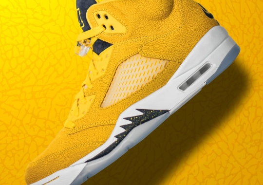 Michigan Wolverines Reveal Their Air Jordan 5 PE