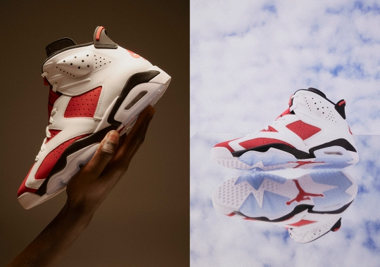 "The Air Jordan 6 ""Carmine"", In It's Original Form, Returns After Thirty Years"