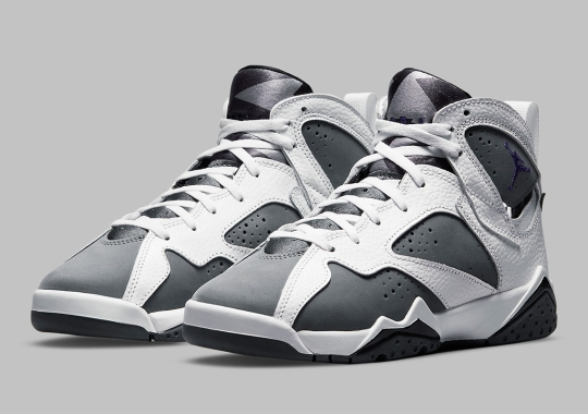 "The Air Jordan 7 ""Flint"" Revealed In Grade School Sizes"