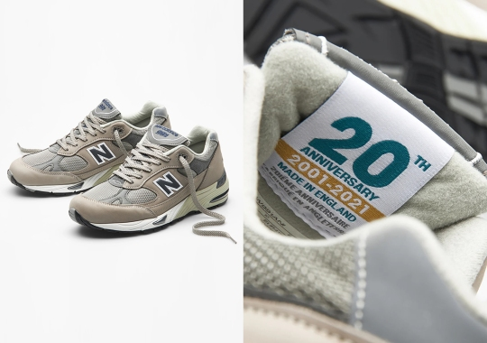 The New Balance 991 Celebrate Its 20th Anniversary With Two Grey Options