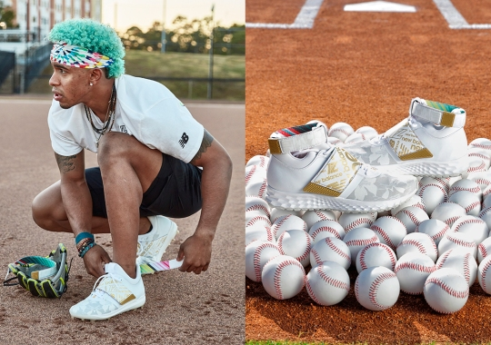 New York's Newest Superstar Francisco Lindor Gets His Own New Balance Signature Shoe