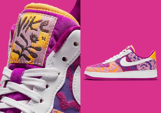 This Colorful Suede Nike Air Force 1 Draws Inspiration From The Enduring Spirit Of Mexican Women