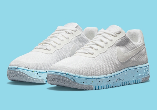 The Nike Air Force 1 Crater Rebuilt With FlyKnit Uppers