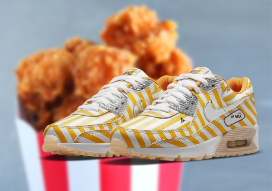 Nike's Chicken-Inspired Air Max 90 Is (Almost) Finger-Licking Good