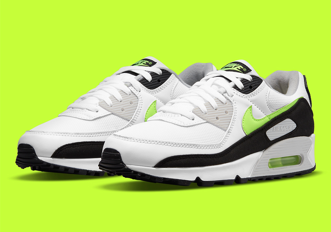 Nike Air Max 90 Hot Lime CZ1846-100 Release Info | SneakerNews.com