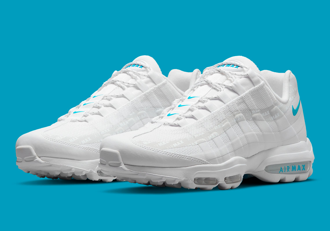 Nike Air Max 95 Ultra White/Glacier Blue DM2815-100 | SneakerNews.com