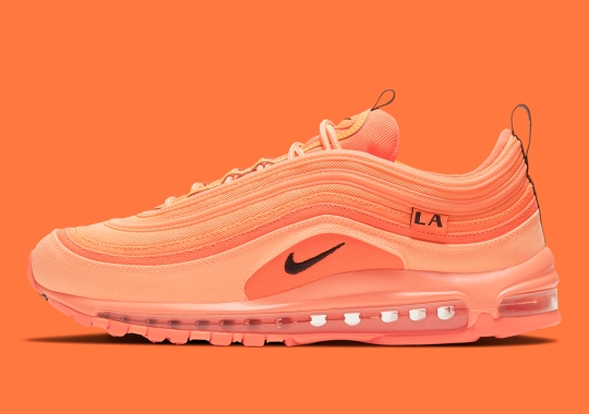 "Nike's ""City Special"" Capsule Continues With This Orange Air Max 97 For LA"
