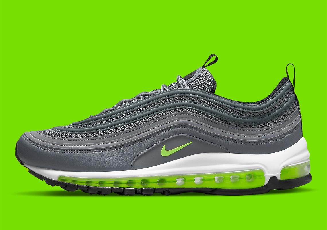 Nike Air Max 97 Grey Green DJ6885-001   SneakerNews.com