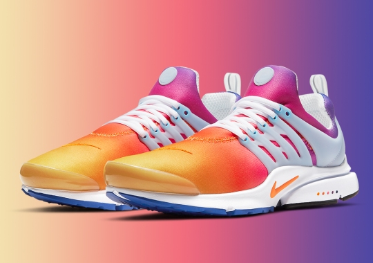 This Nike Air Presto Goes From Sunrise To Sunset