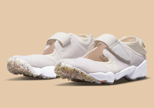 Nike Adds Regrind Soles To The Women's Air Rift