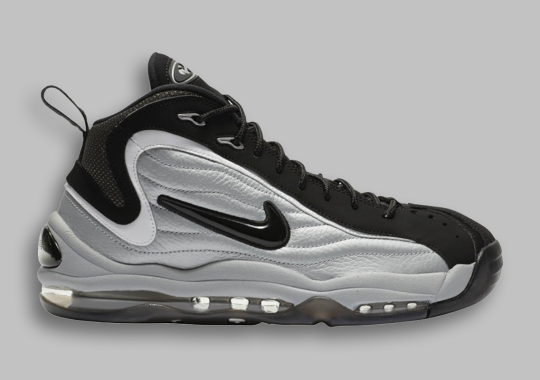 """The Nike Air Total Max Uptempo """"Metallic Silver"""" Is Returning Soon"""