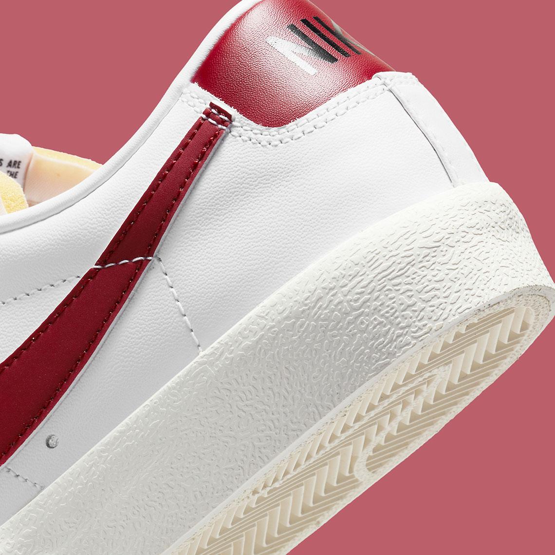 Nike Blazer Low '77 Team Red DA6364-102 | SneakerNews.com
