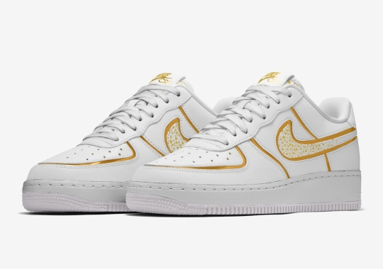 """Cristiano Ronaldo And Nike By You Team Up For Special Air Force 1 """"CR7"""" Design Options"""