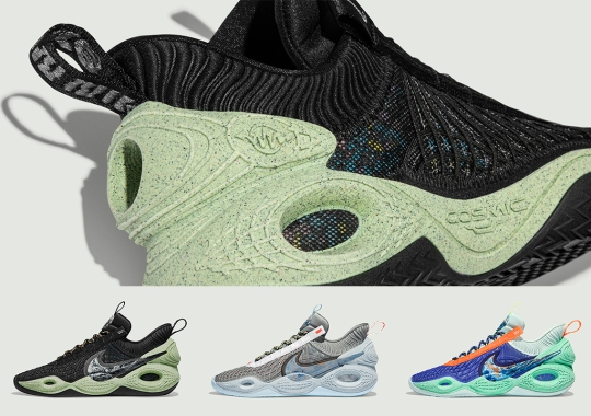 Nike's Sustainable Cosmic Unity Basketball Shoe Does More With Less