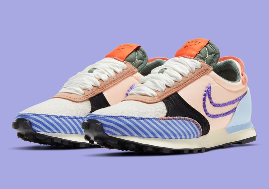 The Nike Daybreak Type Continues As A Testing Ground For Patterns And Materials