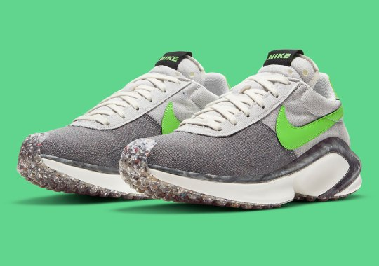 This Nike D/MS/X Waffle Sets Apart With Marbled Midsole Overlays