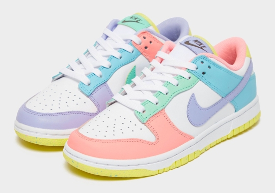 "The Women's Nike Dunk Low ""Light Soft Pink"" Gets A Blast Of Easter Pastels"