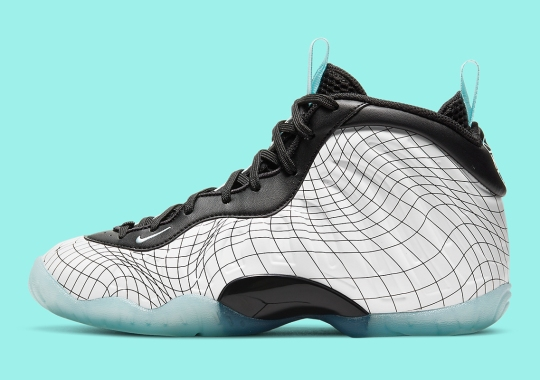 Nike Is Dropping The Air Foamposite One With Warped Grid Graphics
