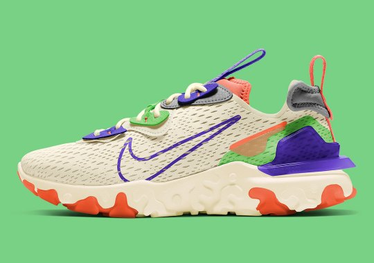 Buzz Lightyear's Space Suit Lands On A New Nike React Vision