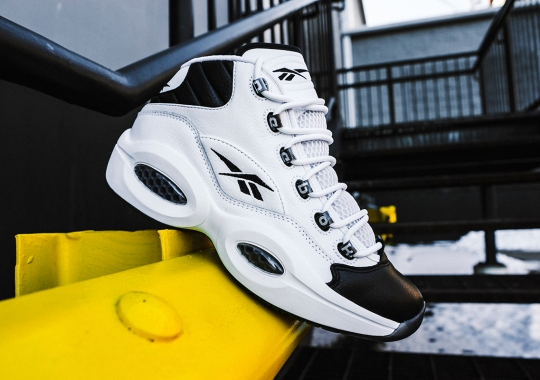 "The Black-Toe Reebok Question ""Why Not Us?"" Officially Returns On March 6th"