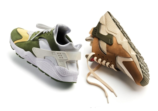 Stussy And Nike Are Bringing Back The Air Huarache, Their First Ever Sneaker Collaboration
