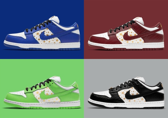 Supreme x Nike SB Dunk Low Set For Supreme-Exclusive Release On March 4th