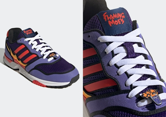 adidas Mixes Up A ZX 1000 Inspired By Flaming Moe's