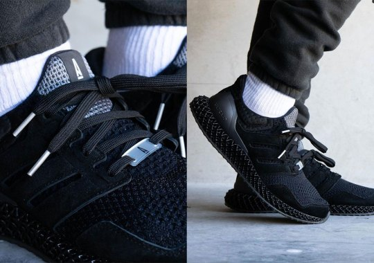 A Ma Maniere Suits Up The adidas Ultra 4D In All Black