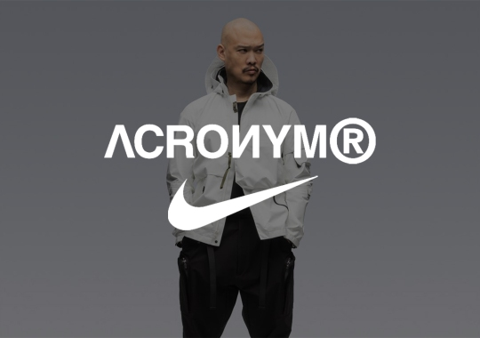 ACRONYM And Nike Partner Up Again For A Blazer Low With External Heel Frame