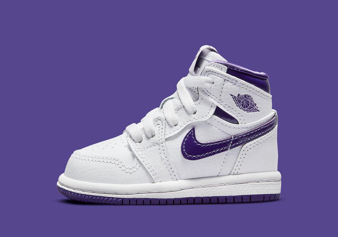 Air Jordan 1 Court Purple PS TD Release Info | SneakerNews.com