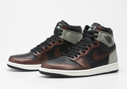 "The Air Jordan 1 Retro High OG ""Patina"" Releases Tomorrow"