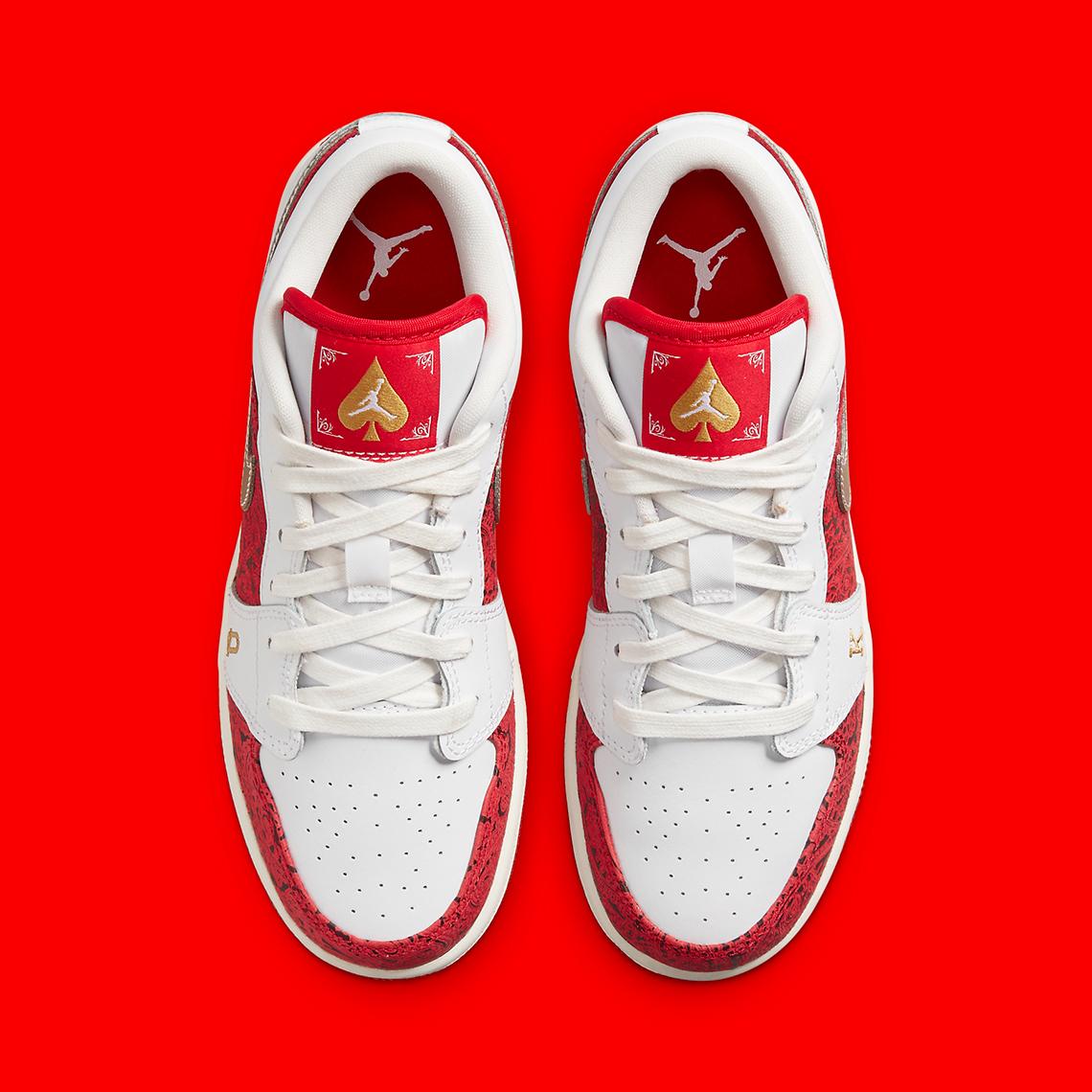 Air Jordan 1 Low SE GS 'Spades'