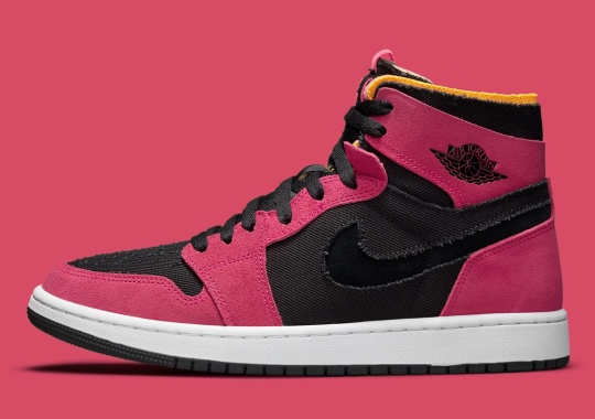 "Official Images Of The Air Jordan 1 Zoom CMFT ""Fireberry"""