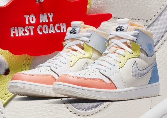 "Official Images Of The Air Jordan 1 Zoom CMFT ""To My First Coach"""