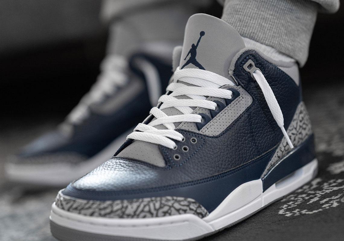 Air Jordan 3 Georgetown CT8532-401 Release Reminder   SneakerNews.com