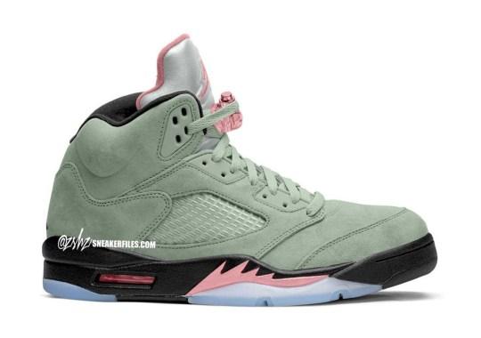 """The Air Jordan 5 To Release In """"Jade Horizon"""" This December"""