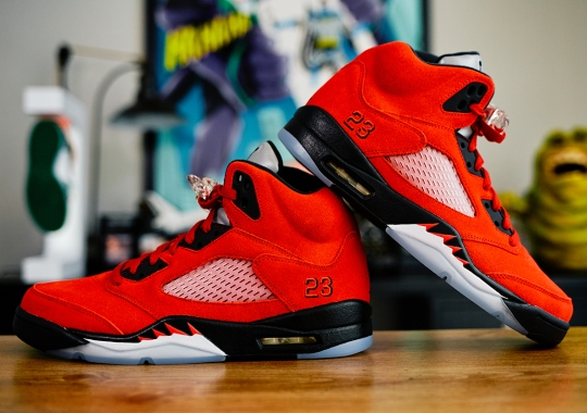 "The Air Jordan 5 ""Raging Bull"" AKA ""Toro Bravo"" Returns On April 10th"