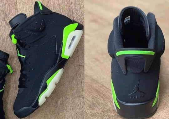 "First Look At The Air Jordan 6 ""Electric Green"""