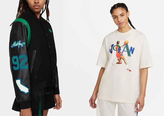 Aleali May And Jordan Brand To Drop Full Apparel Collection Alongside Air Jordan 1 Zoom CMFT Collaboration