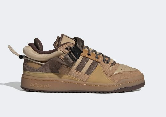 The Bad Bunny x adidas Forum Buckle Low Releases Tomorrow