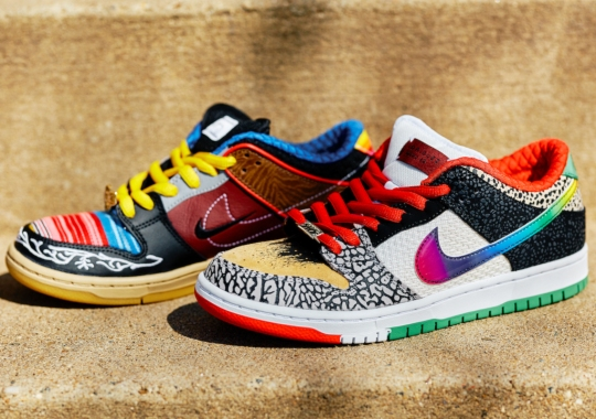 """Nike SB, Originator Of The """"What The"""" Look, Returns To The Theme For P-Rod's SB Dunk"""