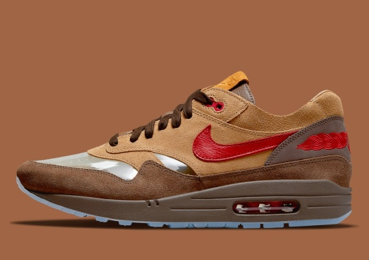 "Official Images Of The CLOT x Nike Air Max 1 ""Cha"""