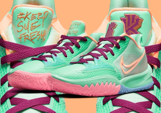 "Sue Bird Gets The Kyrie Plug Once More With The Nike Kyrie Low 4 ""Keep Sue Fresh"""