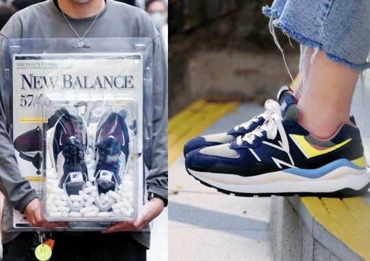 DAHOOD HUB In Hong Kong To Unleash The New Balance 57/40 With Vintage Toy-Style Packaging